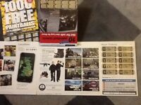 IPG Paintball tickets X 10