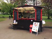 The Tea Garden in St Andrews Park needs a supervisor/ manager