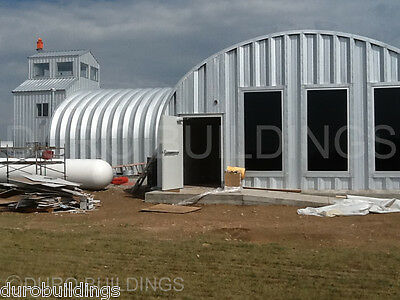 Durospan Steel 40x100x16 Metal Building Kit Pole Barn Open Ends Factory Direct