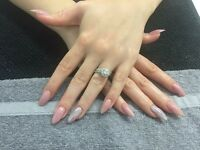 Fully certified nail tec acrylic extensions £27 gel extensions £25 gel polish £15 gel toes £15