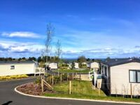 GRAB a BARGAIN 2moro night: Deluxe 8-berth static caravan on stunning plot, Seton Sands to rent hire