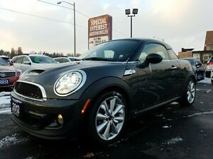 2012 Mini Cooper S Base COUPE S !!! TURBO !!! 6 SPEED !!!!