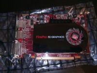 Amd Firepro 3D V4800 1GB graphics card