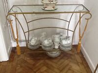 Console Table and Matching Mirror by Next