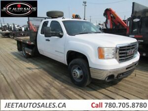 2007 GMC 3500 HD Extended cab Flat deck RWD