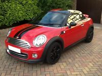 OPEN TO OFFERS.Mini Cooper 2012 1.6 litre. Mint condition,Full service history,1 Owner..low Mileage!