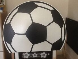 Fabulous football headboard for single bed ideal boys bedroom makeover