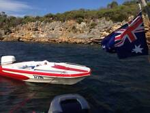 Completely refurbished 115hp speed boat for sale Doubleview Stirling Area Preview