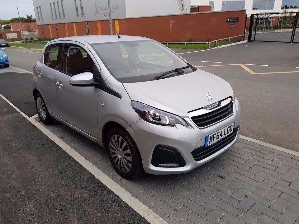 Peugeot 108 2014 1.0 petrol full service