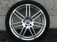22INCH 5/130 AUDI Q7,VW TOUAREG ALLOY WHEELS WITH TYRES FIT MOST MODELS