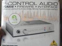 FCA202 Mac Audio Interface