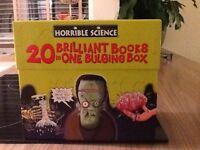 Horrible science bulging box of 20 books As new