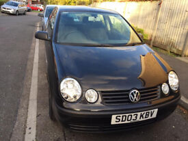 2003 VW POLO 3 DOOR MK3 FACELIFT 1.2 (A/C) PETROL, LADY OWNER, 9 MONTHS MOT, ONLY 57K