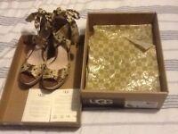 UGG wedge sandals uk size 6.5