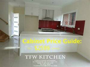 Complete Kitchen Cabinets + Polyurethane Door + Quartz Stone Benc Clayton Monash Area Preview