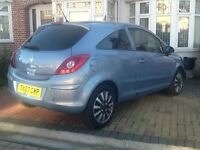 VAUXHALL CORSA 3 DOOR AUTOMATIC +FULLY HPI CLEAR REPORT + 1 year long. MOT ..