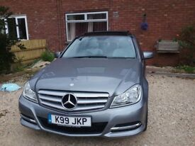 stunning Mercedes c class for sale