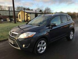 2009 FORD KUGA TDCI 4X4 ONLY 80K