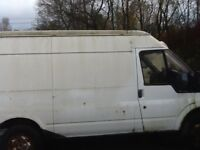 Ford transit 53 plate breaking 2.4 rwd white