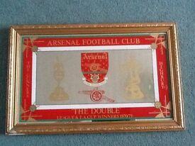 Arsenal framed mirror