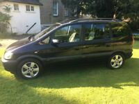 FOR SALE VAUXHALL ZAFIRA 1.6 MANUAL PETROL WITH 11 MONTHS M.O.T. TO GO