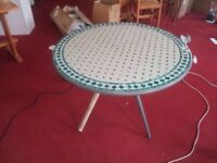 brand new dining table/ garden table