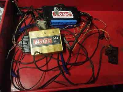 Motec M4 ECU, fuel injection, programmable ignition not link megasquirt haltech