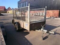 IFOR WILLIAMS TRAILER GD 84 FULLY CAGED MESH KIT RAMP TAIL NEW FLOOR PLANT FARM DIGGER MOWER CAR VAN