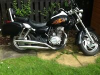 Cruiser 124 cc black 4 stroke