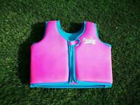 Zoggs pink swim trainer jacket