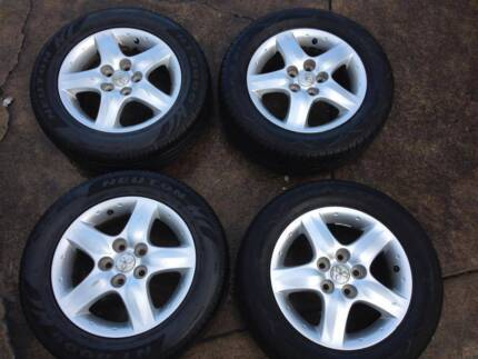 2005 Mitsubishi Outlander alloy wheels x 4 Galston Hornsby Area Preview