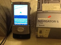 Palm Tungsten T3 PDA with TomTom Navigator 5 SATNAV