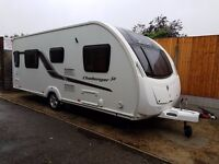 Swift Challenger 565 4 Caravan 2013 FIXED SINGLE BEDS MOTOR MOVER, AWNING !!