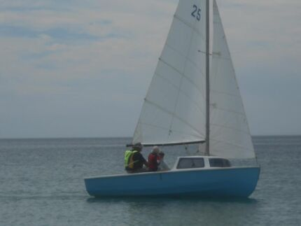 Hartley 16 Yacht with registered trailer