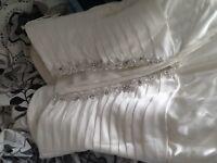 Ivory wedding dress size 14/16
