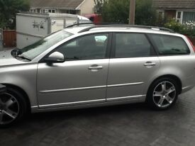Bargain FSH LOW MILES VOLVO V50, any inspection