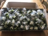 142 Brand New white Foam Roses, weddings, Decoration, stage