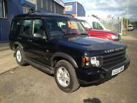 land rover discovery td5 GS 4x4 manual 7 seater twin sunroof cruise control GREAT FOR COMING WINTER