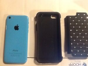 iPhone 5c 16 with case