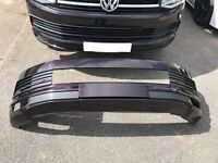 2016 VW T6 Highline front Bumper. Blackberry colour