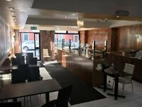 Established Restaurant/Takeaway Business For Sale - Busy Rusholme Area - Seating Area - New Interior