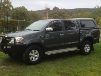 2007 Toyota Hilux Twin Cab Ute Riddells Creek Macedon Ranges Preview