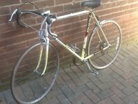 Raleigh road race bike Kellogg Tour bike 501 frame