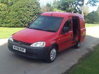 Vauxhall combo. 1.3. Cdti. Diesel. 58. Reg. 10. Months mot