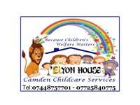 Ofsted registered childcarer