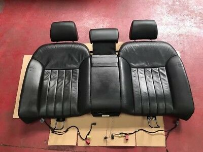 Audi A8L A8 D3 Rear Seats Back Base Heated And Side Air Bags Black Leather