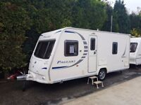 2009 Bailey Pageant Bordeaux 4 Berth caravan FIXED BED Awning VGC, Bargain !