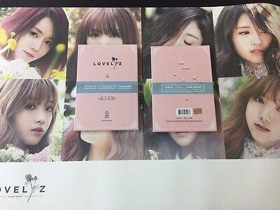 LOVELYZ - A NEW TRILOGY (2ND MINI ALBUM) CD /Photobook+Photo Card