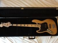 LEFT HANDED SQUIER VINTAGE MODIFIED JAZZ BASS