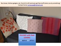 pillows different sizes
